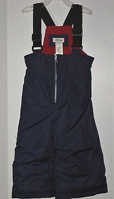 DISNEY Unisex Size 6-12 Months Blue Fully-Lined Snowsuit Overalls Outerwear