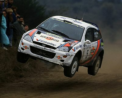 COLIN McRAE 04 FORD FOCUS (RALLY)  PHOTO PRINT
