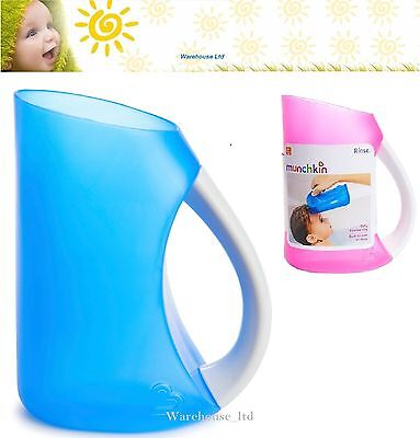 Munchkin Shampoo Rinser No More Tears, Soft Contoured Rim, Easy Rinse, Bath