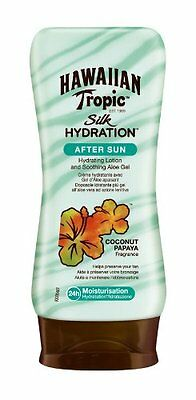 Hawaiian Tropic Silk Hydration After Sun Lotion With Soothing Aloe Gel 180m