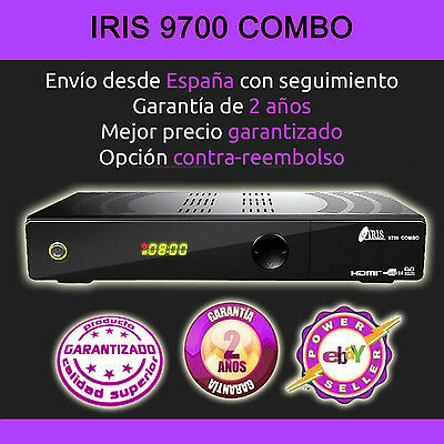 Decodificador Satelite Iris Iris 9800 Hd + Cable Hdmi. Factura Y 2 Años Garantia