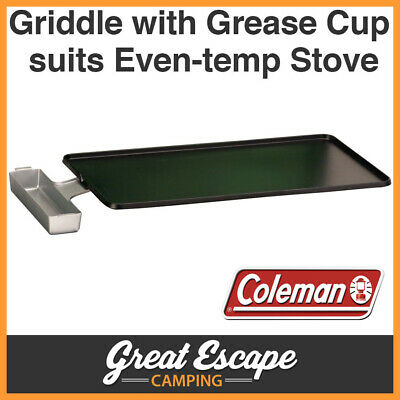 Coleman EvenTemp Griddle and Grease Cup for EvenTemp stove