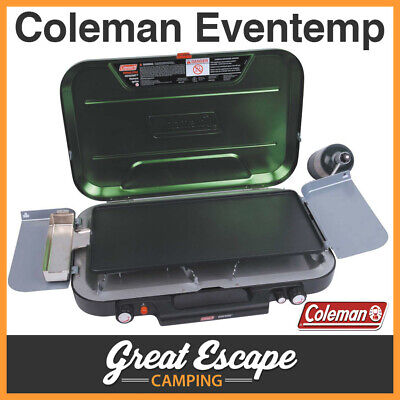 Coleman Eventemp 3 Burner Stove with Griddle