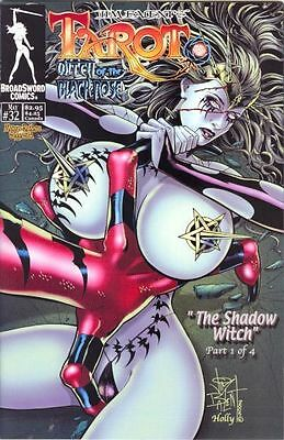 Tarot Witch of the Black Rose 32 b Broadsword Jim Balent sexy NM FREE UK POSTING