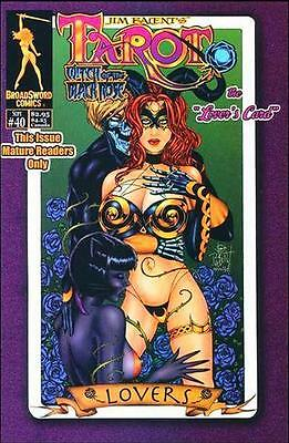 Tarot Witch of the Black Rose 40 b Broadsword Jim Balent sexy NM FREE UK POST
