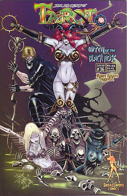 Tarot Witch of the Black Rose 36 a Broadsword Jim Balent sexy NM FREE UK POST
