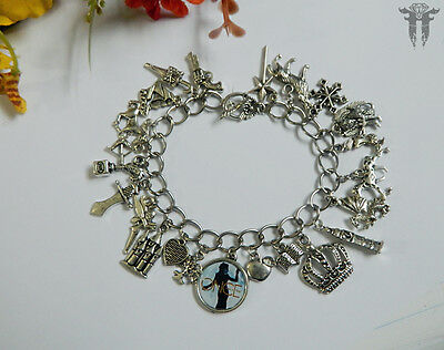 Once Upon A Time Inspired Photo Charm Bracelet Regina Evil Queen Storybrook TV