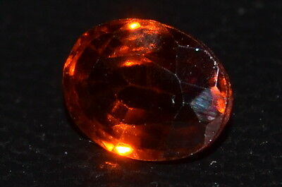 *NICE* 1.93ct Brilliant Cut Natural Untreated Hessonite Garnet Gemstone!!!