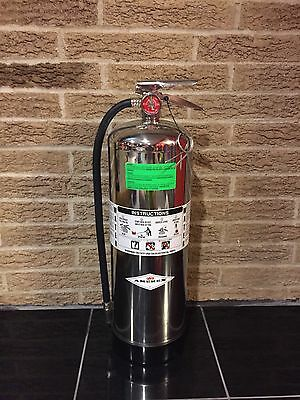 Fire Extinguisher (New In Box) Amerex 2.5 Gallon Water Can Refillable