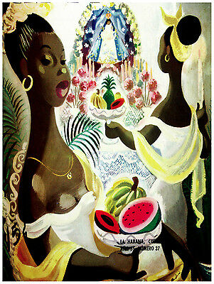 573.Cuban religious Wall Art Decoration POSTER.Graphics to decorate home office.