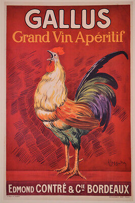 2298.Decorative Poster.French Gallus Rooster.Bar Liquor decor.Cock.Mancave art