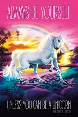 Unicorn - Always Be Yourself POSTER 61x91cm NEW * Unless You Can Be A Unicorn