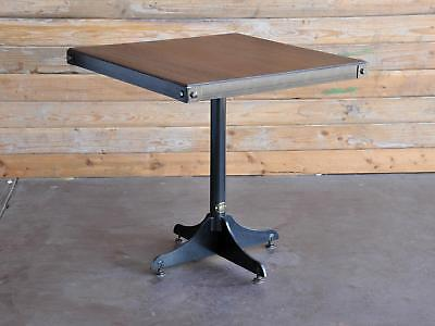 Wednesday Industrial Cafe Table / Vintage Metal Bistro Table