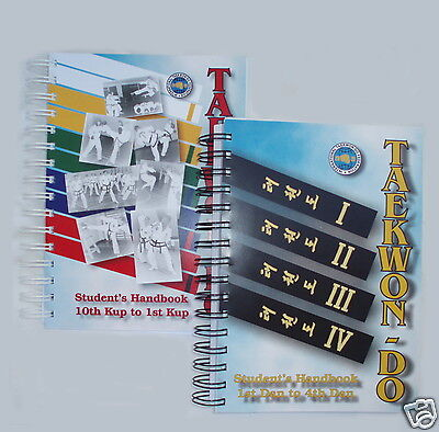 TAEKWONDO BOOKS Everything for Beginner to 5th Dan - ITF /TAGB / Independent etc