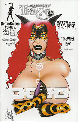 Tarot Witch of the Black Rose 44 b Broadsword Jim Balent sexy NM FREE UK POST