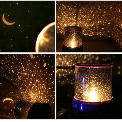 Color Twilight Stars Star Master Beauty Projector Night Light Lamp Wall decor