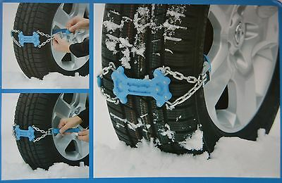 Traction help Snow Ice Snow chain Tyres Spikes Snow Chains quick montierba