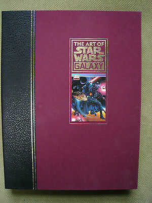 Art of Star Wars Galaxy Signed & Numbered Traycase Hardcover #640/1000 RARE OOP