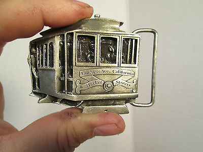 Beautiful SF Cabe Car Belt Buckle Indiana Metal Craft USA Vintage 1978 New