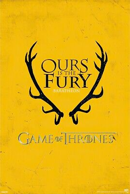 Game Of Thrones - Tv Show Poster / Print (Baratheon House Crest / Sigli)