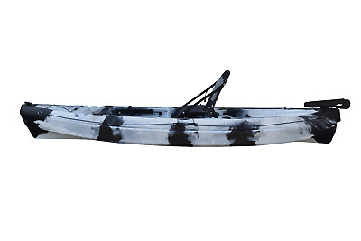 Brand new sit in touring kayak single canoe sea river new rudder