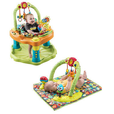 Evenflo Exersaucer Fun Baby Child Activity Gym Mat Toy Bouncer/ Rocking Chair