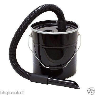 Hampton Bay Black Fireplace / Wood Stove Ash Vacuum Attachment FA-AVS New