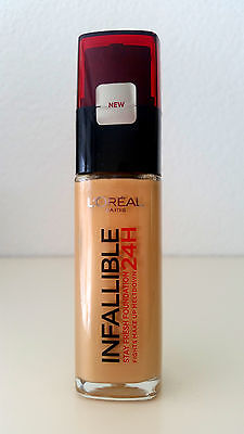 Loreal Infallible Indefectible 24H Stay Fresh Foundation 200 Golden Sand Neu