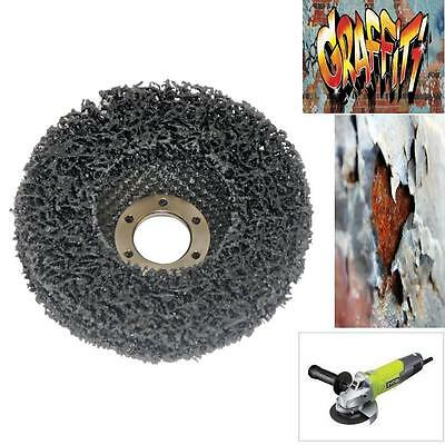 GRAFFITI RUST PAINT REMOVAL DISC FOR 115mm ANGLE GRINDER USE ON BRICK METAL WOOD