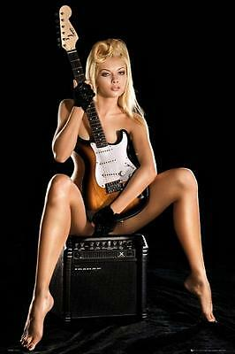 Guitar Girl - Maxi Poster 61cm x 91.5cm new and sealed