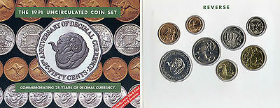 1991 Australia Uncirculated Coin Set