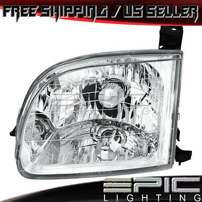 Regular Access Cab Headlight for 2000-2004 TOYOTA TUNDRA - Left Driver LH