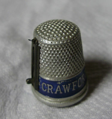Lot16 - CRAWFORD'S CITY ASSORTED Advertising THIMBLE & NEEDLE THREADER