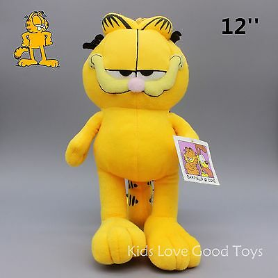 New Garfield Cat Plush Soft Toys Stuffed Animal Doll 12'' Teddy Lovely Kids Gift