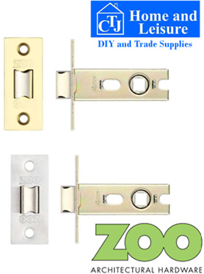 "YALE brand TUBULAR LATCH DOOR LATCH 2.5"" or 3"" Brass / Chrome finish TOP QUALITY"
