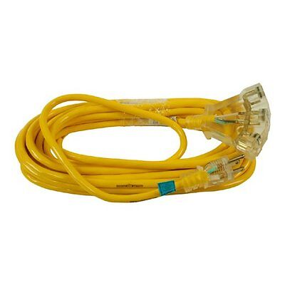 Woods 510015 Yellow Jacket 3-Outlet with Power Indicator Light 30M