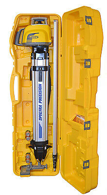 New Spectra Precision Trimble LL300N-1 Self Leveling Laser Level Kit -Tenths Rod