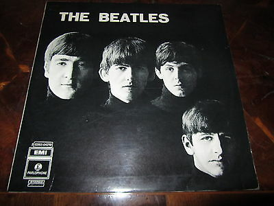 THE BEATLES 3 C 062 04219 Italy 1970 Black Parlophone Misprint Cover and Label