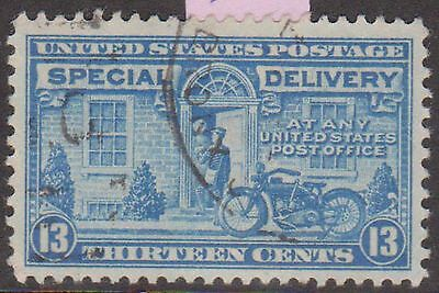 (USG-502) 1922 USA 13c blue special delivery (AD)