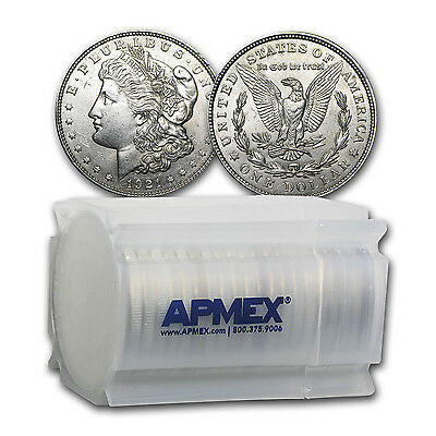 1921 P, D, or S Mint Morgan Dollar AU (20-Count Roll) - SKU #92366