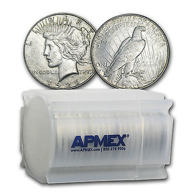 1922-1935 Peace Silver Dollars VG-XF (20-Count Roll) - SKU #92368
