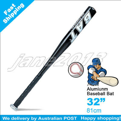 "Black-Brand New Aluminium Baseball Bat 32"" 81cm SYDNEY STOCK"