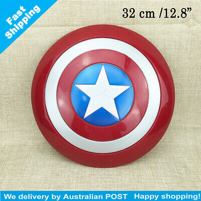 Captain America Shield Flash Light Voice Kids Gift Party Cosplay Toy 32 cm/12.8""