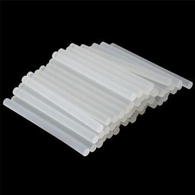 50 pcs 200mm x 7mm Hot Glue Gun Sticks Melt Clear Adhesive Craft Hobby Stick