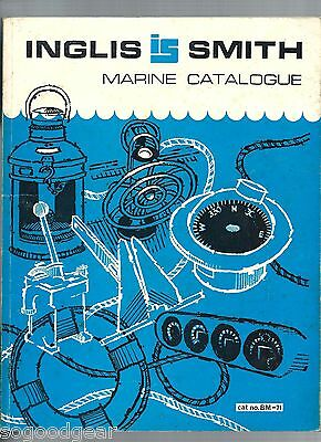 Inglis Smith 178 Page Marine Catalogue 1971