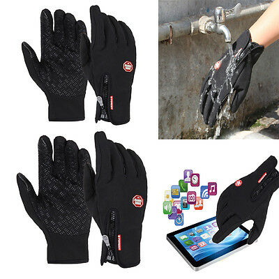 Hot Waterproof Driving Gloves Touch Screen Outdoor Sport Tactical Mittens Gloves