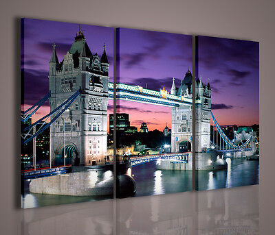 Quadro Moderno London Tower Bridge Quadri Moderni Su Tela Londra Arredamento