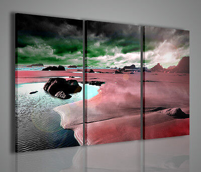 QUADRI MODERNI ABSTRACT SURREAL QUADRO MODERNO XXL STAMPA SU TELA ARREDAMENTO
