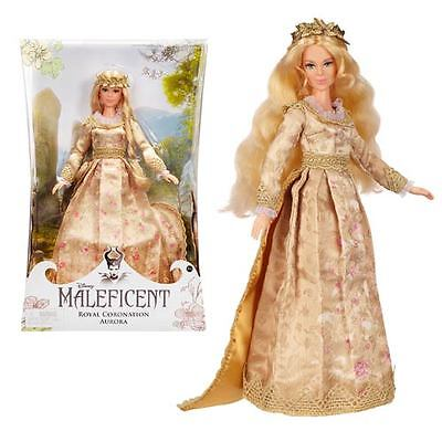 Maleficent Enchanted Moments Collector Doll Royal Coronation Aurora UK Seller