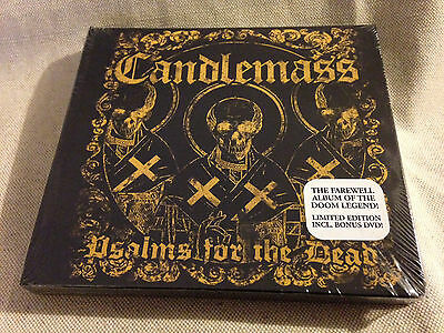 CANDLEMASS -Psalms For The Dead LTD ED DIGI CD + DVD BRAND NEW & SEALED!